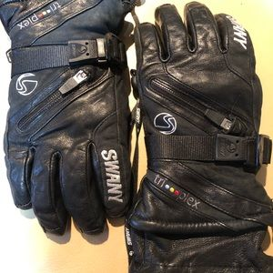 SWANY LEATHER SKI GLOVES